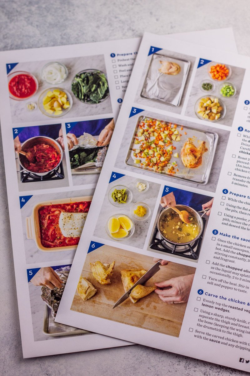 Blue Apron Whole30 meals