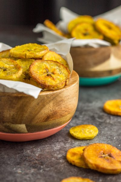 Crispy Instant Pot Plantain Chips
