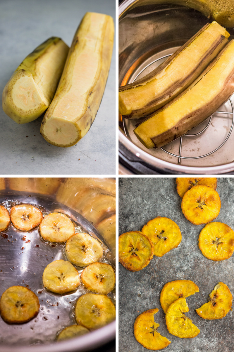 Making crispy plantain chips in an Instant Pot!