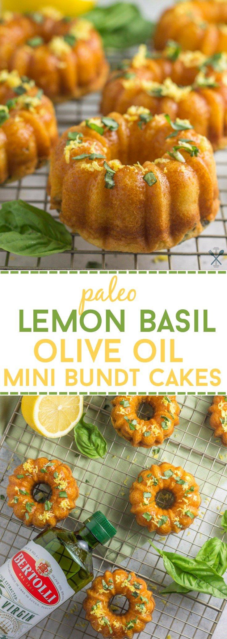Lemon Basil Bundt Cake