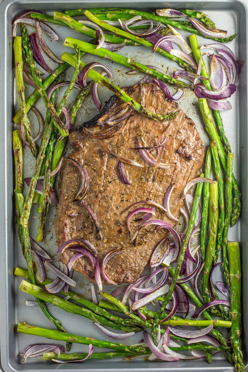 A simple sheet pan dinner in under 20 minutes. Paleo & Whole30