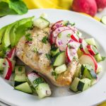 THE recipe of the spring and summer. A paleo dinner made in minutes - grilled chicken with cucumber radish chutney