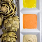 A perfect paleo and Whole30 appetizer. These Instant Pot artichokes are SO easy to make, with three amazing dipping sauces