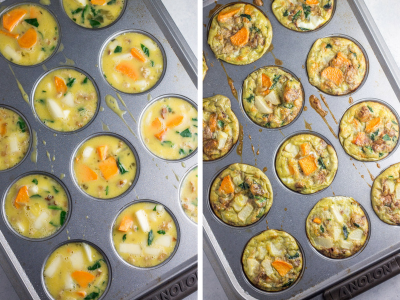These meatless egg muffins are perfect for breakfasts during busy mornings. Kids LOVE these
