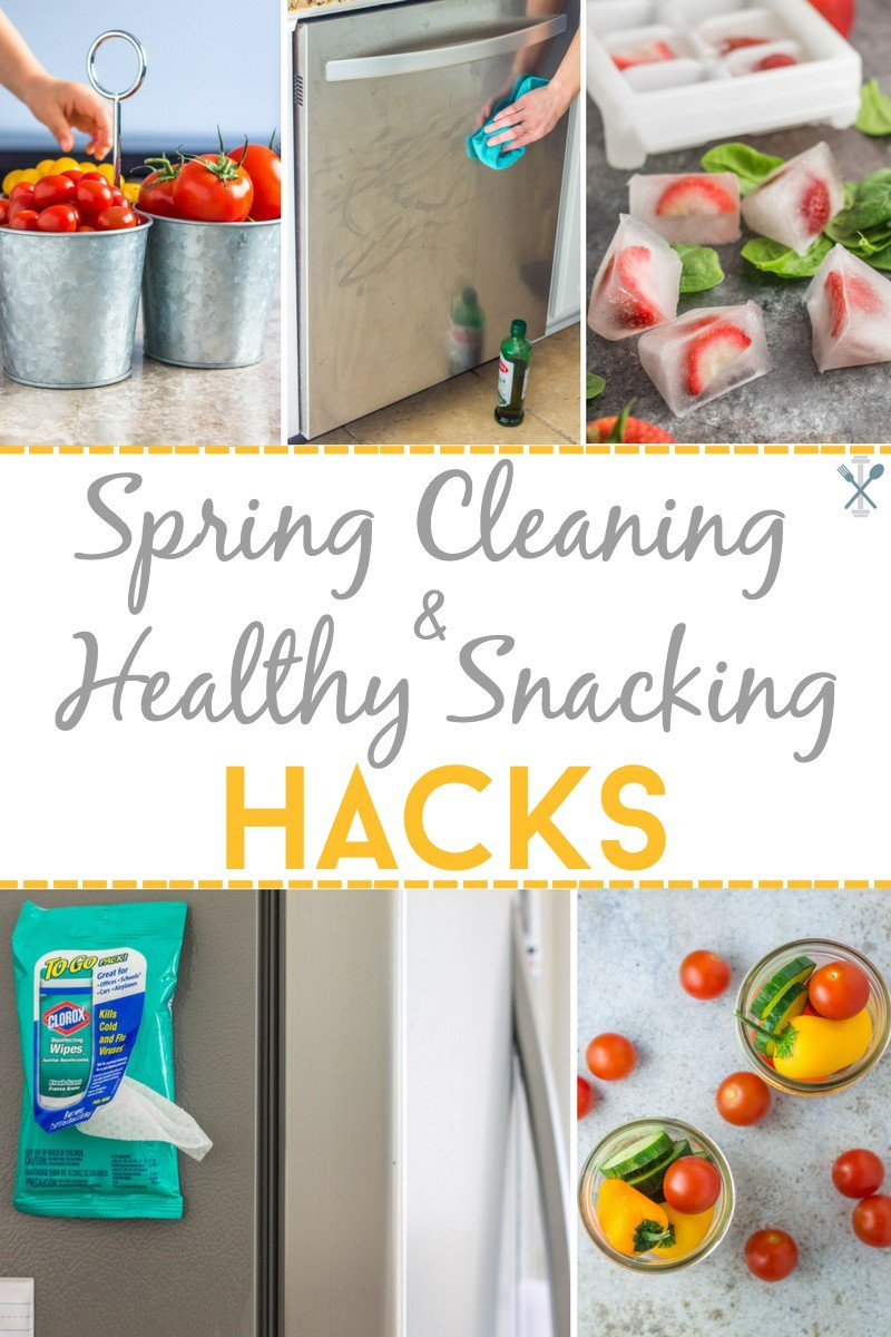 Spring cleaning and healthy snacking hacks!
