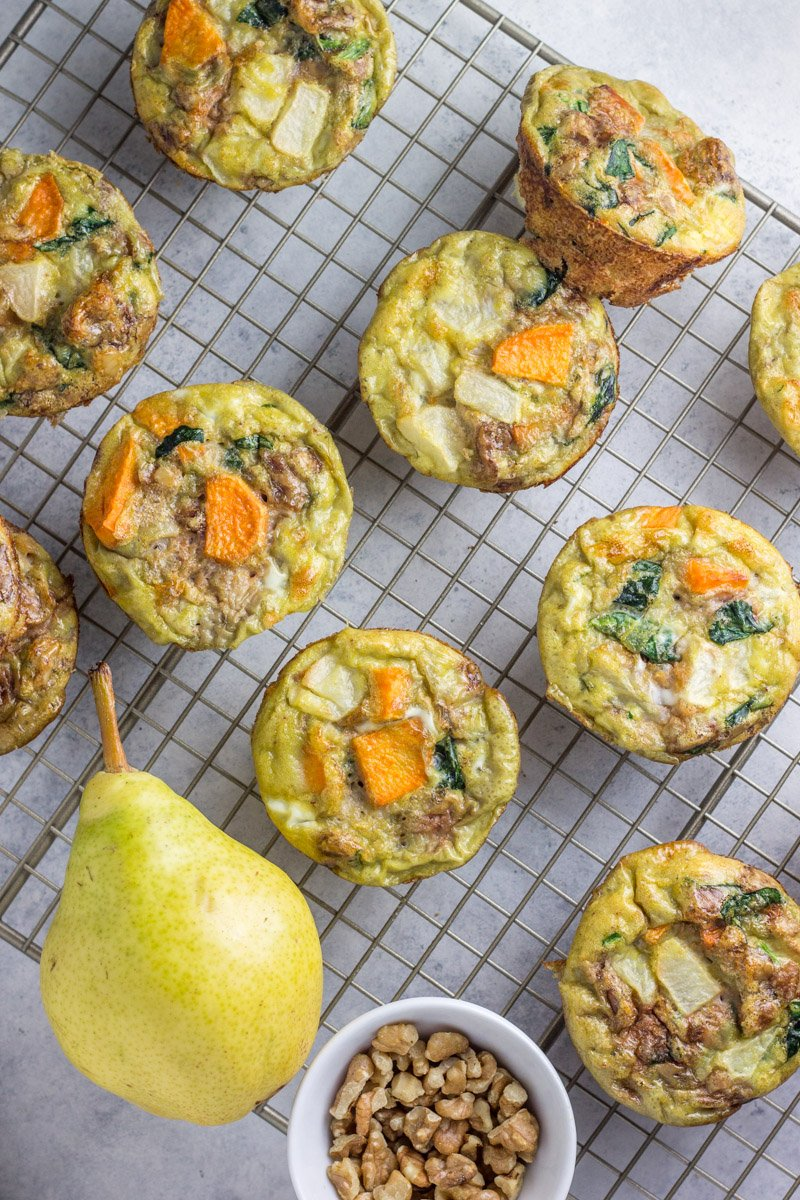 These healthy egg muffins are packed with some surprising ingredients that you'll love (no doubt). Meatless, paleo, whole30
