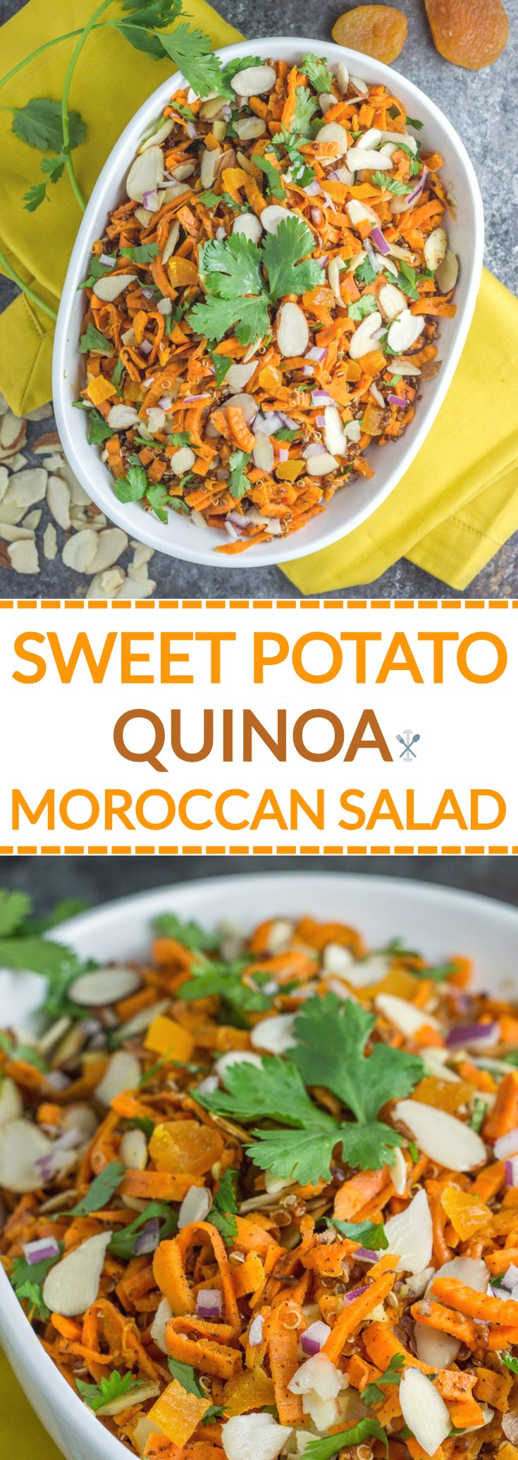 This plant-based salad can be served hot or cold. Packed with flavor and full of nutrients too!