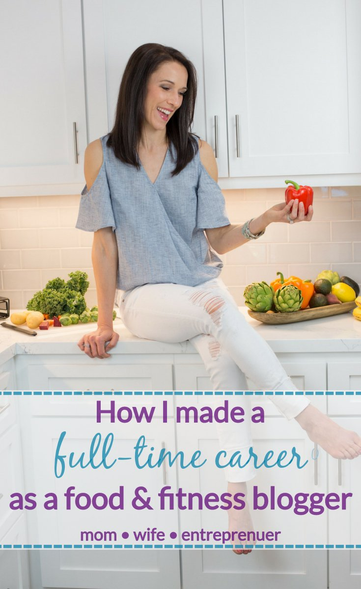 How I became a full-time blogger. Questions about starting out, balancing motherhood, and income