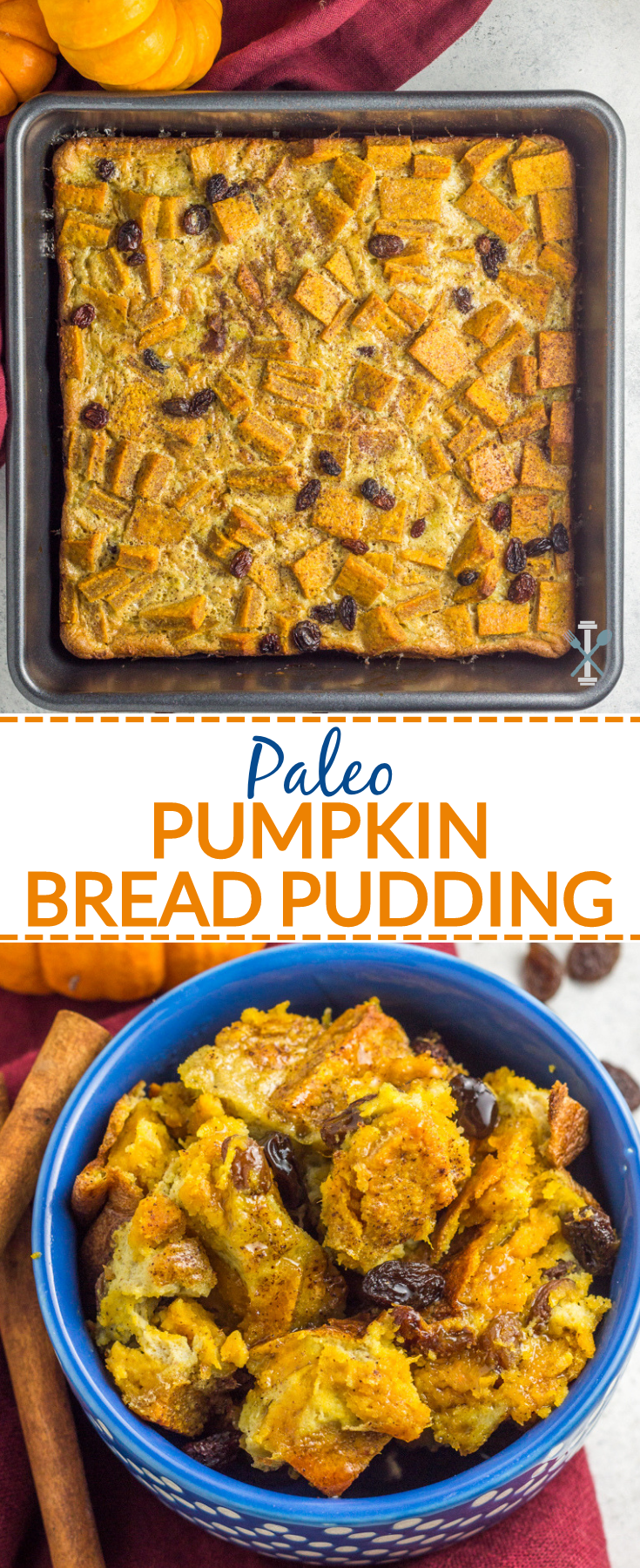 This grain free paleo pumpkin bead pudding is infused with major pumpkin flavor. It's the perfect naturally sweetened, gluten free, and dairy free treat