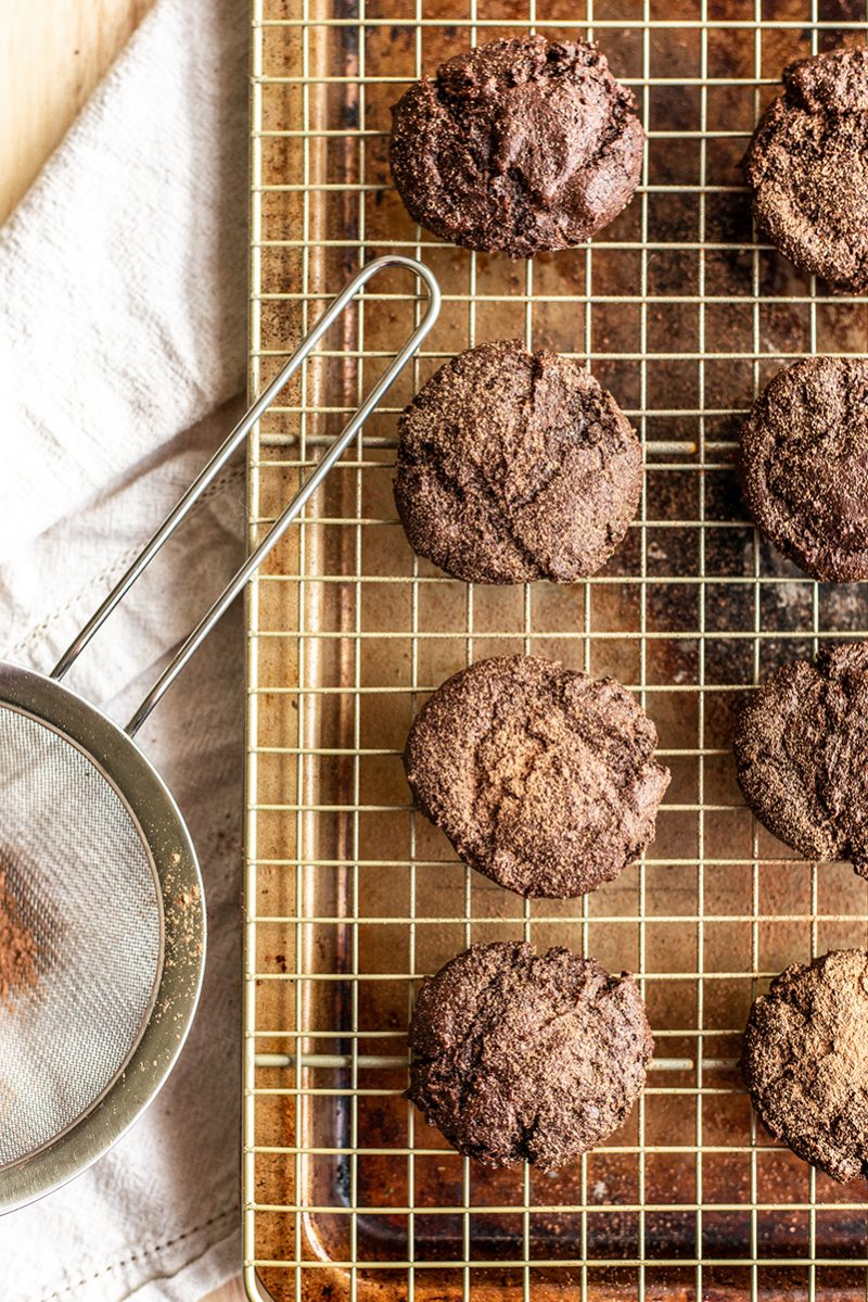 These nut free cookies are rich and decadent. A perfect paleo cookie this holiday season
