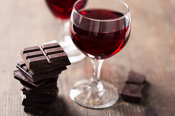 wine and chocolate craving