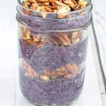 Blueberry Pie Chia Seed Pudding