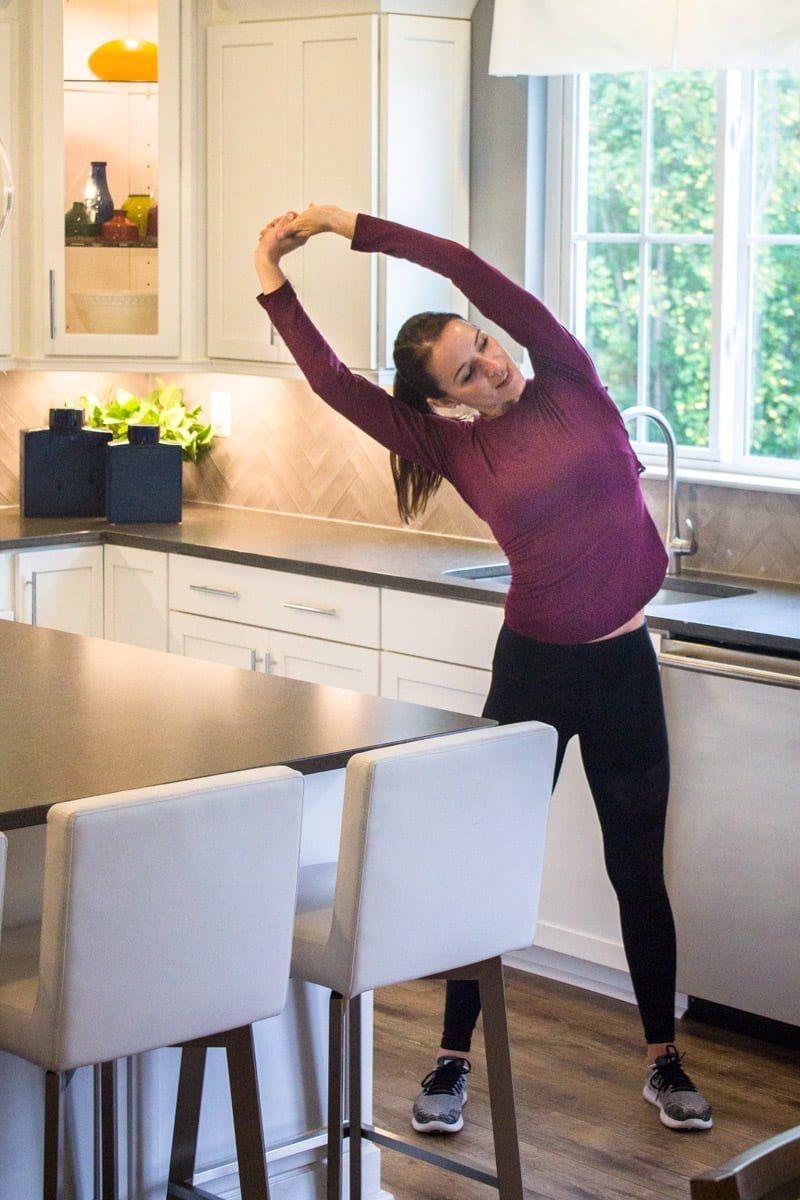 Fitness Stretch Motivation