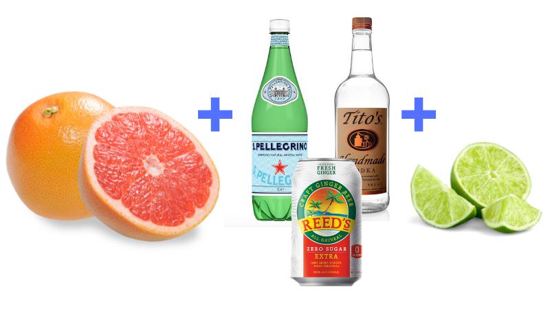 Light Grapefruit Moscow Mule Recipe