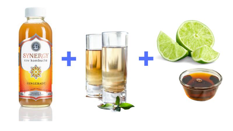 Kombucha Margarita Ingredients