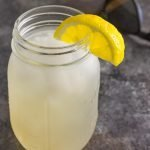 lemon ginger vodka seltzer