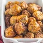 Whole30 Air Fryer Meatballs