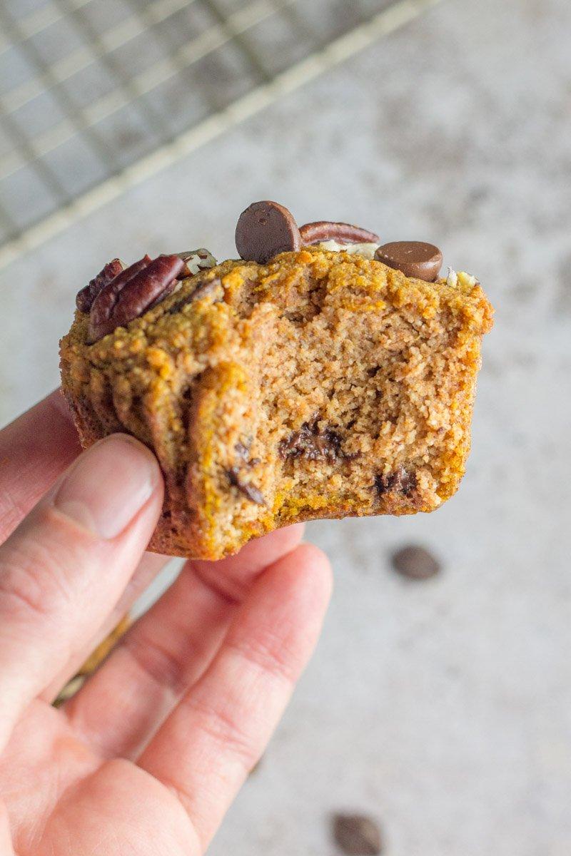 Dairy free gluten free pumpkin muffins